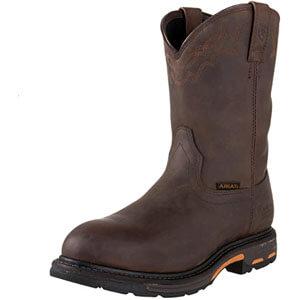 Ariat Men's Workhog Pull-on Waterproof Pro Work Boot