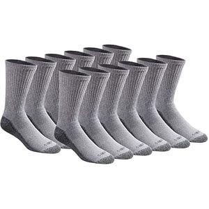 Dickies Men's Multi-pack Dri-tech Crew Socks