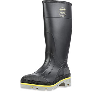 """Tingley 31251.12 Pilot 15"""" Cleated Steel Toe Knee Boot, Size 12"""