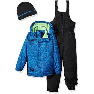 IXtreme tonal print W/gaiter snowsuit for boys