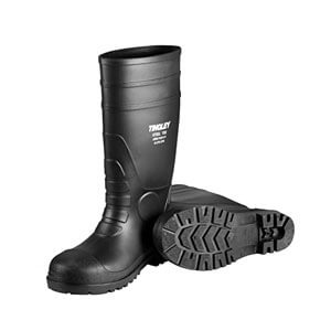 "Servus XTP 15"" Resistant Stee. Toe Men's Work Boots, Black , Yello & Gray"