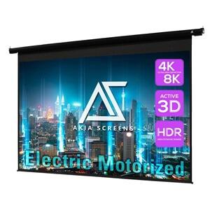 Akia Screens 104 inch Motorized Electric