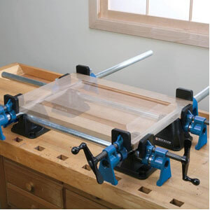 Bench Block Pipe Clamp Stabilizers