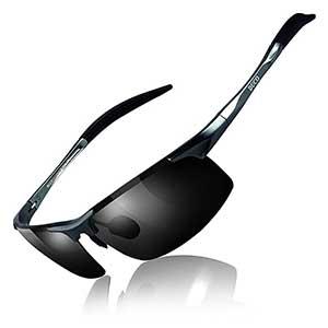 Duco Men's Sports Style Polarized Driver Glasses