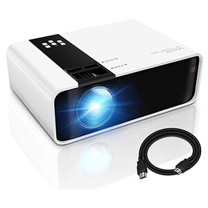GRC Mini Projector, 1080P HD Supported