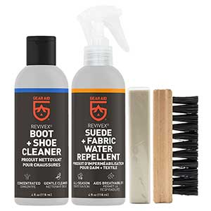 Gear Aid Revivex Suede And Fabric Boot Care Kit
