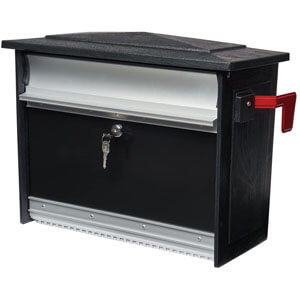 Gibraltar Mailboxes Mailsafe Medium Capacity Aluminum