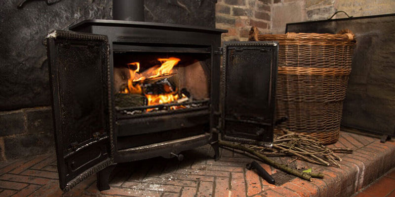 Install A Wood Stove In A Garage