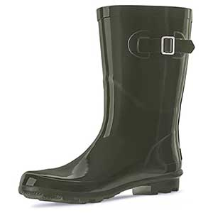 Landchief  Women's Rubber Rain Boots