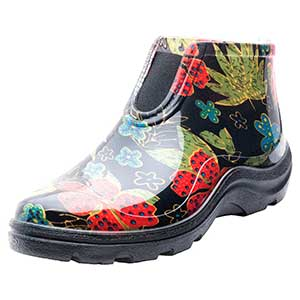Sloggers Women's Waterproof Rain and Garden Ankle Boots with Comfort Insole