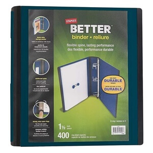 Staples Better binder