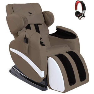 Suncoo Massage Recliner Chair Bonded Leather