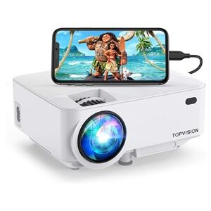 TOPVISION 4000LUX Outdoor Movie Projector