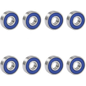 TRIXES 8 Frictionless ABEC 9 Bearing Review