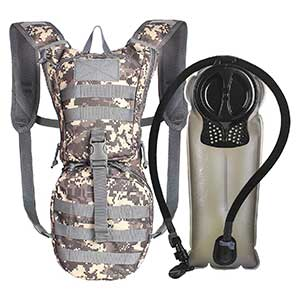 Tactical Hydration Pack Backpack 900D