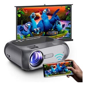 WiFi Mini Projector Full HD 1080P
