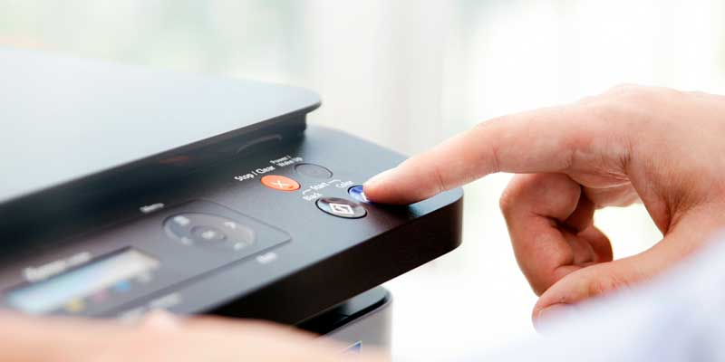 Turning The Printer OnOff